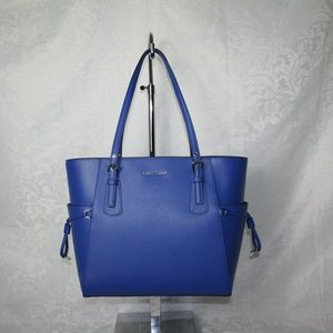 MICHAEL KORS VOYAGER EAST/WEST TOTE GRECIAN BLUE